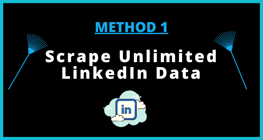LinkedIn data scrape