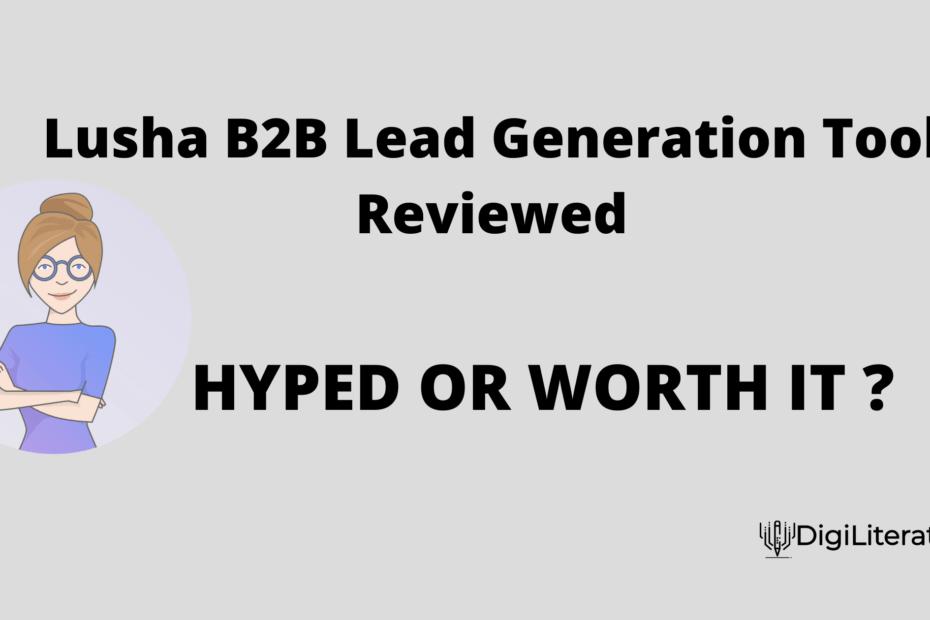 B2B Lead Generation Tools