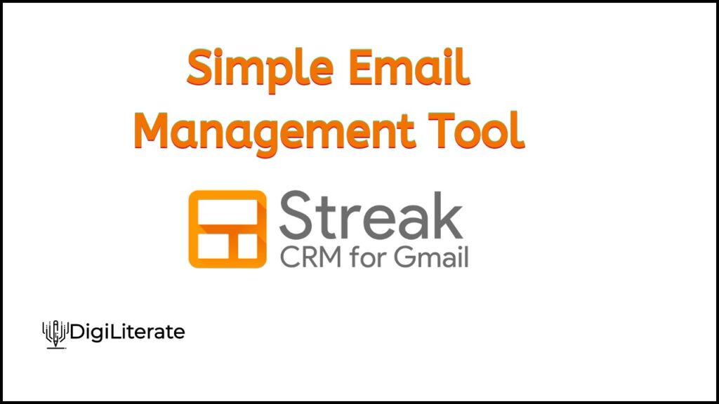 Streak CRM Introduction